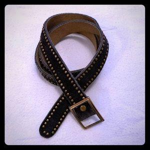 Vintage Anne Klein for Calderon Leather Belt